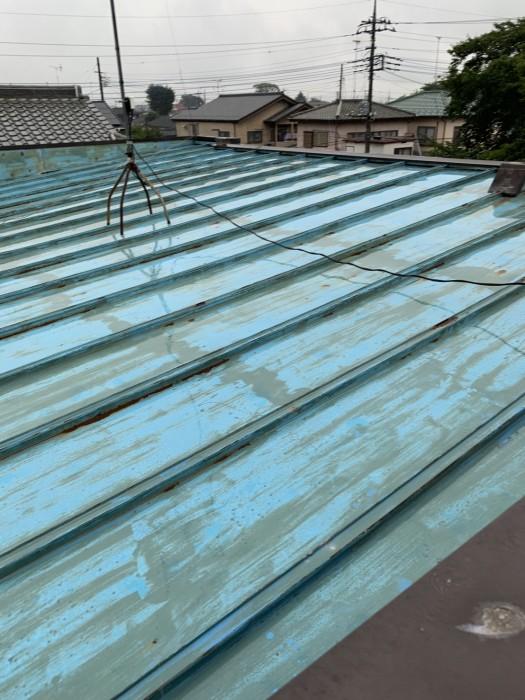 川越市 屋根塗装 施工前1